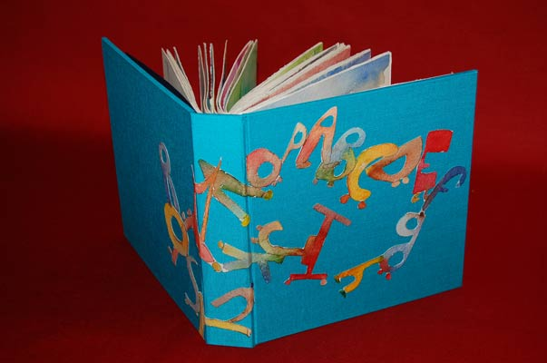 Book's creation example at l'atelier des lutins